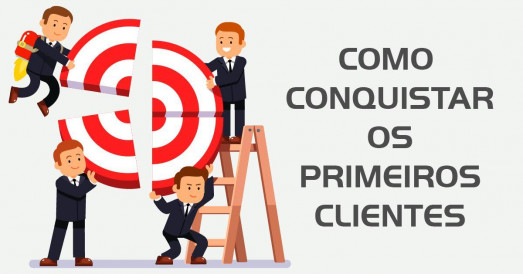 Como conquistar os primeiros clientes no Marketing Digital